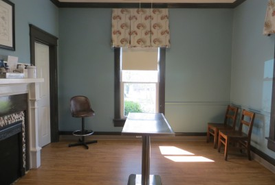 Our spacious exam room.